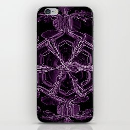 Water Turns Amethyst iPhone Skin