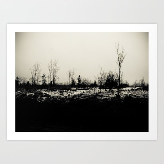 Desolation 2 Art Print