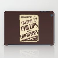 gta iPad Cases featuring GTA Trevor Phillips Enterprises by Spyck