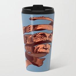 E=M.C. Escher Metal Travel Mug