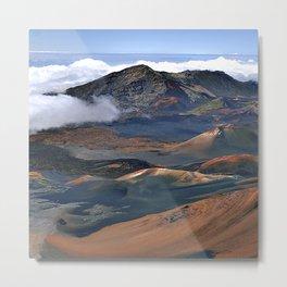 Above The Clouds: Haleakala East Maui Volcano In Hawaii Metal Print