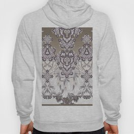 tonal grand paisley mix with florals Hoody