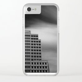 Architecture Long Exposure Clear iPhone Case