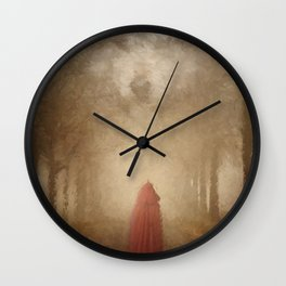 Beware the Wolf Wall Clock