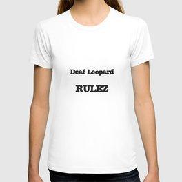 Deaf Leopard RULEZ T-shirt