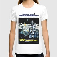 2001 T-shirts featuring 2001 by Neon Wildlife