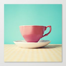 Blushy Cup Canvas Print