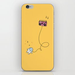 Music Space Kitty by Turbobambi iPhone Skin