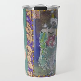 Steampunk Circus Girl Travel Mug