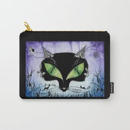 Black Cat Bastet Carry-All Pouch