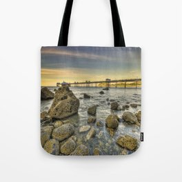 A Rocky Sunset Tote Bag