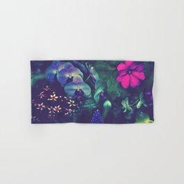 Gathering of Flowers - [Purple Version] Hand & Bath Towel