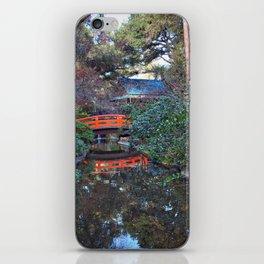Japanese Gardens, Descanso Gardens iPhone Skin