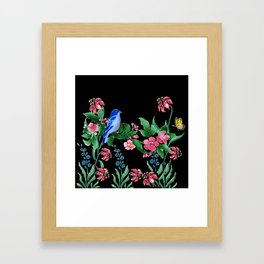 A Little Bit Of Spring #1 Framed Art Print