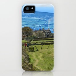 Footpath to Castle Farm Cottages  iPhone Case