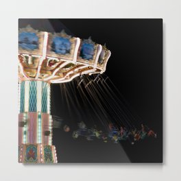 Night Blur Metal Print