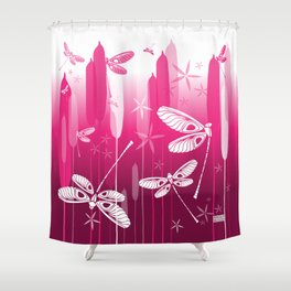 CN DRAGONFLY 1016 Shower Curtain