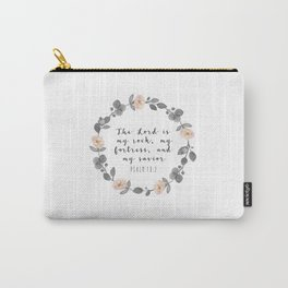 Bible Verse Psalm 18:2 Carry-All Pouch
