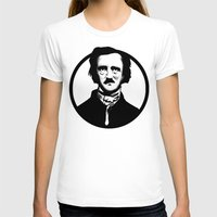 poe T-shirts featuring Poe by Zombie Rust