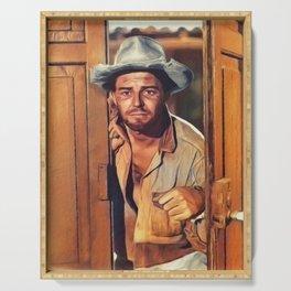 Gerard Philipe, Vintage Actor Serving Tray