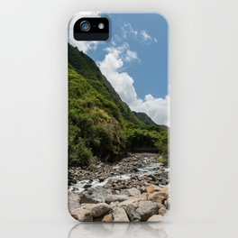 Iao Valley State Park, Maui iPhone Case
