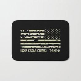 USNS Cesar Chavez Bath Mat