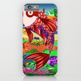 Koinobori (鯉のぼり) iPhone Case