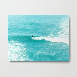 Catch A Wave Surfers Metal Print