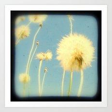 Dandelions #3 Art Print