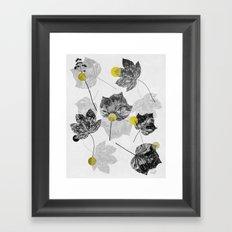 Leaves Abstract 1 Framed Art Print