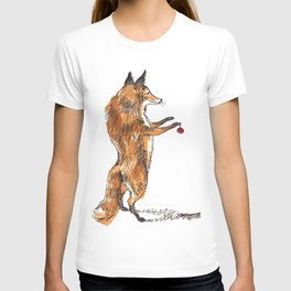 Christmas Fox T-shirt