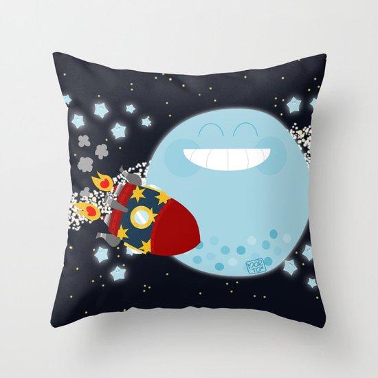 Le Voyage dans la Lune Throw Pillow