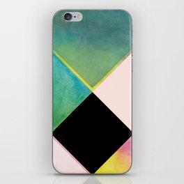 Tangram Square Two iPhone Skin