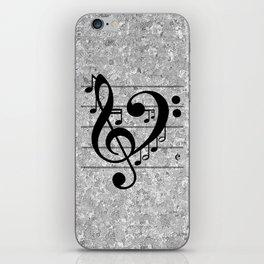 Love Music iPhone Skin