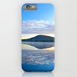 Know and Remember:  Reflections on Lake George iPhone Case