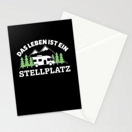 Stellplatz - lustiges Wohnmobil Geschenk Stationery Cards