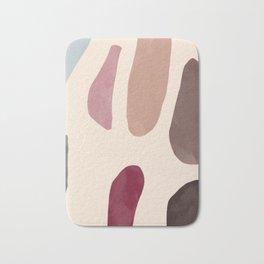 Color Stones Biege Path Bath Mat