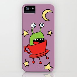 Space MiniMonsters iPhone Case