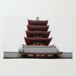 Five-storied Pagoda - Senso-ji Rug
