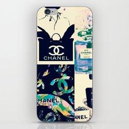 CC No.5 Fashion Collage iPhone Skin