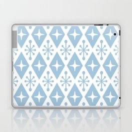 Mid Century Modern Atomic Triangle Pattern 129 Laptop & iPad Skin