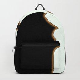 Sexy killer in black Backpack