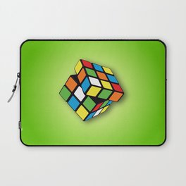 Rubik's Cube 3D Laptop Sleeve