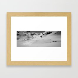 Lonely Mountains IV Framed Art Print