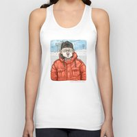 fargo Tank Tops featuring Lester Nygaard… He'd hate for your pretty face to freeze…  by suPmön