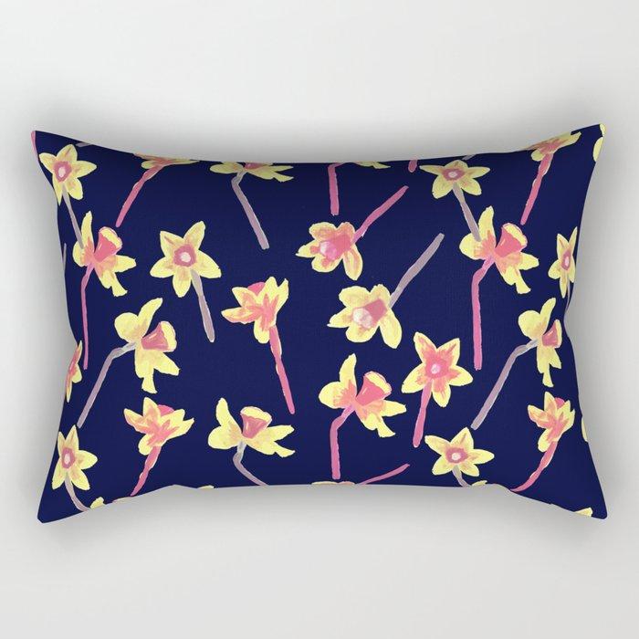 Abandoned flowers Rectangular Pillow
