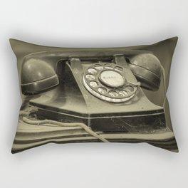 I Still Dial Rectangular Pillow