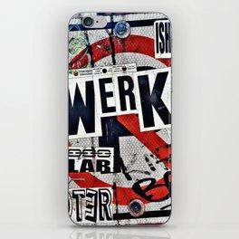 WERK iPhone Skin