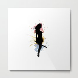 wonder.woman v1 Metal Print