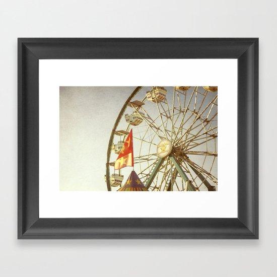 Summer Memory Framed Art Print